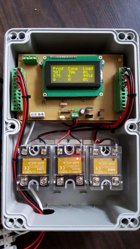 Modul monitorizare retea-baterii