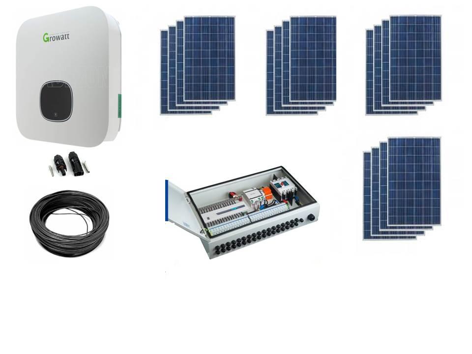 Fotovoltaic trifazat