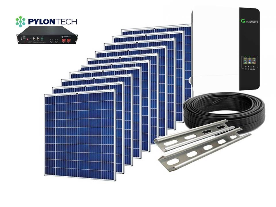 Fotovoltaic off grid 3kw